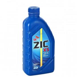 ZIC X5 5W-30/1л полусинтетическое моторное масло