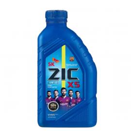 ZIC X5 10W-40/1л полусинтетическое моторное масло