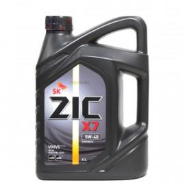 ZIC X7 5W-40/4л синтетическое моторное масло