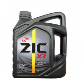 ZIC X7 LS 10W-40/4л синтетическое моторное масло