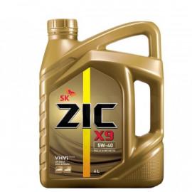 ZIC X9 5W-40/4л полностью синтетическое моторное масло.