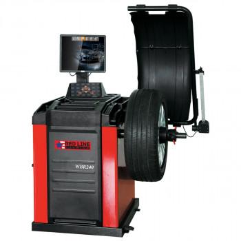 Балансировочный станок автоматический с ЖК монитором Red Line Premium WBR240