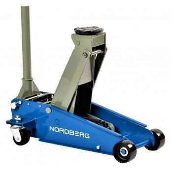 Домкрат подкатной 3 тонн 120-450 мм NORDBERG N32030
