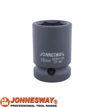 "Головка торцевая ударная 1/2""DR  18 мм Jonnesway  S03A4118"