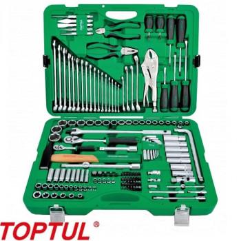 Набор слесарного инструмента 150 предметов TOPTUL (GCAI150R)