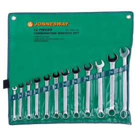 Jonnesway W26112S Набор ключей гаечных комбинированных в сумке 12 предметов