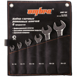 Ombra OMT6S Набор ключей рожковых в сумке 8-27 мм