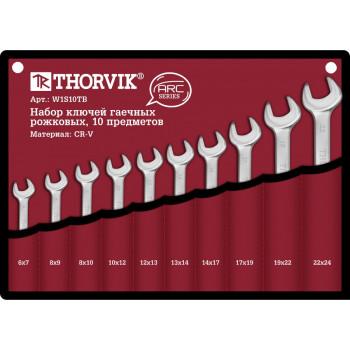 Thorvik Набор ключей рожковых в сумке 10 предметов