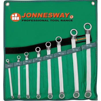 Jonnesway W23108S Набор накидных ключей 8 предметов