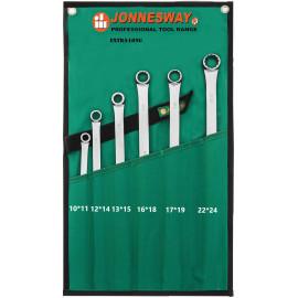 Jonnesway W61106S Набор ключей накидных удлиненных CrMo в сумке