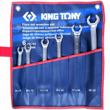 KING TONY 1306MR Набор резных ключей 6 предметов