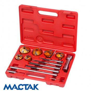Набор фрез для правки седел клапанов, 28-65мм, 14 предметов МАСТАК 103-13014C