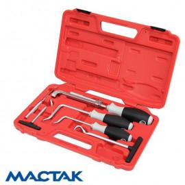 МАСТАК 109-60006C  Набор для демонтажа сальников колей и шлангов 6 предметов