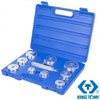 Набор оправок для подшипников и сальников 39-81мм (10 предметов) KING TONY 9BA11