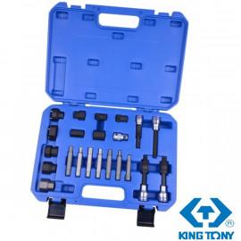 KING TONY 9DA022 | Набор специальных головок для ремонта генератора 22 предмета