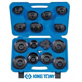 Набор съемников масленых фильтров (16 предметов) KING TONY 9AE2016