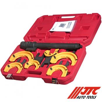JTC-4274 Набор инструментов для стяжки пружин с пневмоприводом