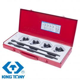 KING TONY 9BF11 Набор для стяжки пружин амортизатора  85-370 мм (кованые крюки)