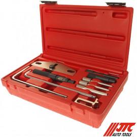 JTC-4434 Набор приспособлений для фиксации коленвала и распредвала VOLVO (1.6,1.9,2.0,2.4L дизель)