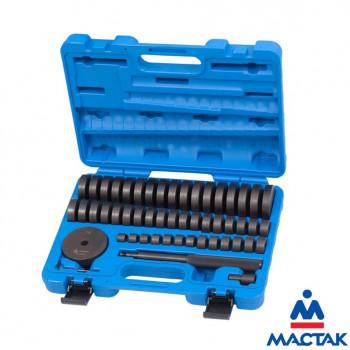 Набор оправок для монтажа и демонтажа подшипников 18-74мм |МАСТАК 100-20049C