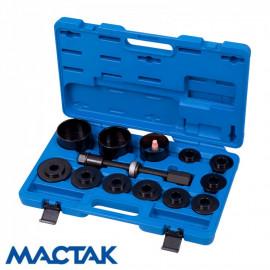 МАСТАК 100-30014C Набор оправок для монтажа и демонтажа ступичных подшипников 14 предметов
