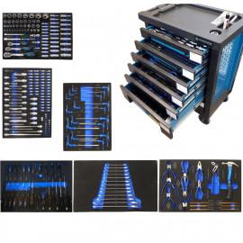 Тележка с набором инструментов Cr-V 248 пр. Forsage F-1141217AB