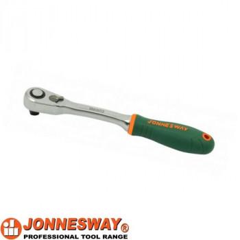 """Трещотка 1/4""""DR, 60 зубцов, 142 мм, Jonnesway R6802"""