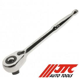 """Ключ трещотка 1/2"""" 72 зуба 250ММ металлическая рукоятка для работ в органическом пространстве JTC-3446"""