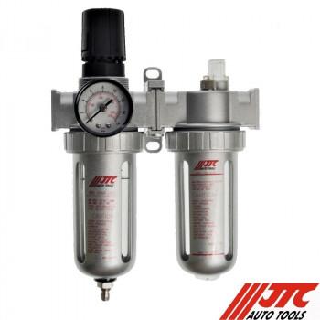 """Блок подготовки воздуха 1/2"""" метал  3000 л/мин.  JTC-5558"""
