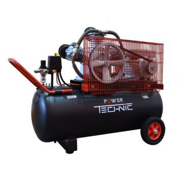 Компрессор Power Technik ACB640/100 220В 3000 ВТ 100 Л