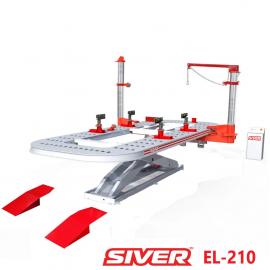 SIVER ЕL-210 стапель платформенный с ножничным подъемником