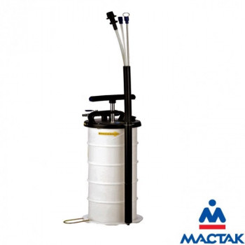 Устройство для откачки масла 6.5 л. пневматический/ручной привод МАСТАК 130-00065