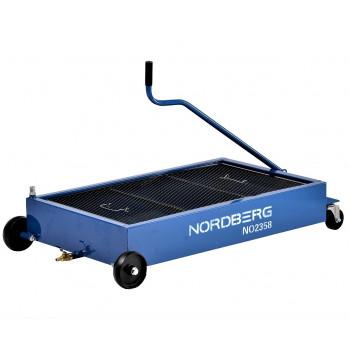 Емкость для сбора масла на колесах 58 литров NORDBERG NO2358