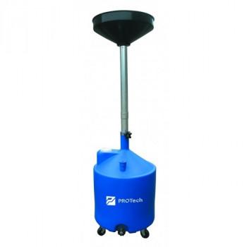 Установка для слива масла/антифриза с круглой подъемной ванной, мобильная ProTech SB75LPro