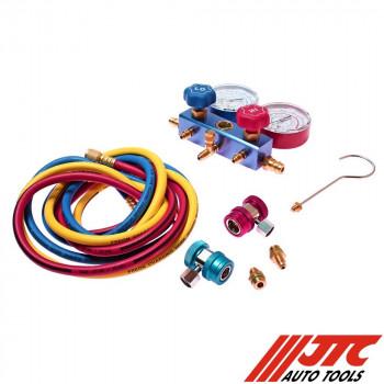 Устройство для заправки автокондиционера JTC-1105