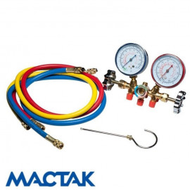 Колектор манометрический для фреона МАСТАК 105-21002