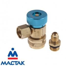 Муфта быстросъемная с вентилем низкого давления МАСТАК 105-40013