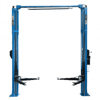 Подъемник двухстоечный 4200 кг. с развернутыми каретками KraftWell KRW4.2MA