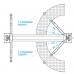 Подъемник двухстоечный, г/п 4т  NORDBERG N4120B-4T_380V