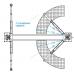 Подъемник двухстоечный электрогидравлический, 380В, г/п 5т NORDBERG N4122A-5T