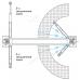Подъемник двухстоечный электрогидравлический г/п 4,5т NORDBERG N4123A-4,5T_220V