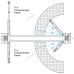 Подъемник двухстоечный электрогидравлический г/п 4,5т NORDBERG N4123A-4,5T_380V