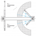 Подъемник двухстоечный электрогидравлический с электростопорами, г/п 4,5т NORDBERG N4123A-4,5T_E_380V