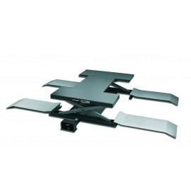 Подъемник ножничный г/п 2500 кг. пневматический напольный KraftWell  KRW260A