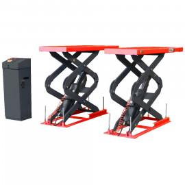 Подъёмник ножничный короткий заглубляемый г/п 3600 кг. Red Line Premium (КНР)  R360SU