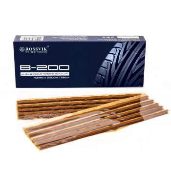 Жгут резиновый B-200, 200*4.5мм, 25 шт/коробка