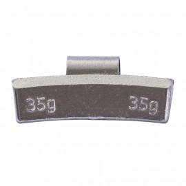 Грузик балансировочный. Вес 35 г. 50 шт/упак.