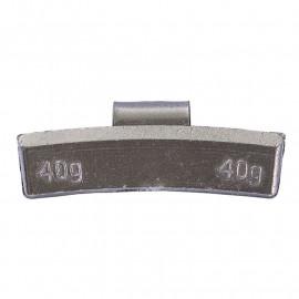 Грузик балансировочный. Вес 40 г. 50 шт/упак.