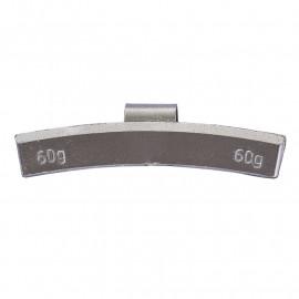 Грузик балансировочный. Вес 60 г. 25 шт/упак.