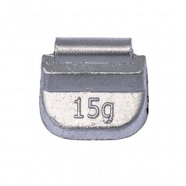 Грузик балансировочный. Вес 15 г. 100 шт/упак.